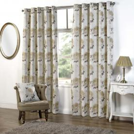 Clara Ready Made Eyelet Curtains