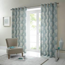 Woodland Ready Made Lined Eyelet Curtains