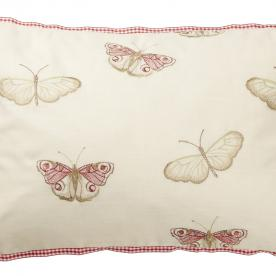 Vintage Butterfly Filled Cushion