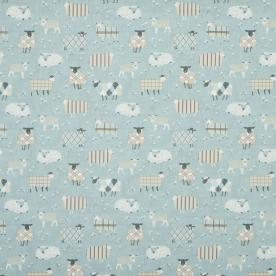 Baa Baa Curtain Fabric