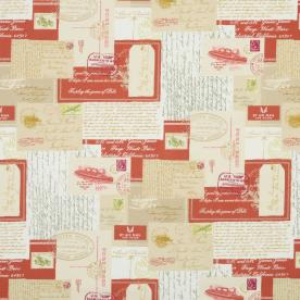 Postcards Curtain Fabric