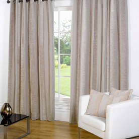 Notting Hill Ready Made Lined Eyelet Curtains