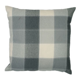 Imperial Check Filled Cushion