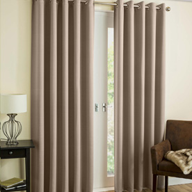 Byron Ready Made Dim Out Eyelet Curtains