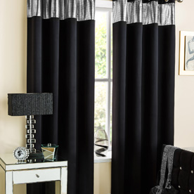 Ibiza Readymade Dim Out Eyelet Curtains