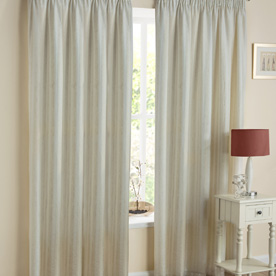 Monaco Readymade Lined Voile Curtains