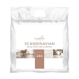 Snuggledown Scandinavian Duck Feather and Down 10.5 Tog Duvet