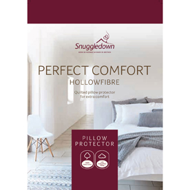 Snuggledown Perfect Comfort Pillow Protector