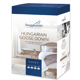 Snuggledown Ultimate Hungarian Goose Down 10.5 Tog Duvet