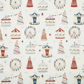 Fun Fair Curtain Fabric