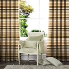 Chenille Stripe Made to Measure Curtains