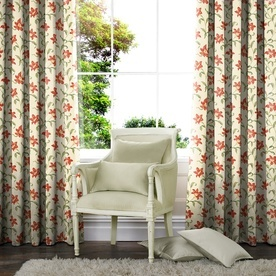Trumpet Lilies Made to Measure Curtains
