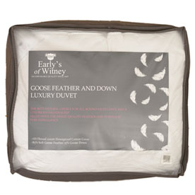Goose Feather and Down Duvet 10.5 Tog