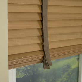35mm Primary Wood Venetian Blinds With Tapes