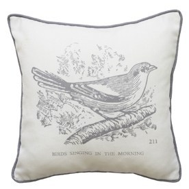 Kirstie Allsopp Bird Filled Cushion