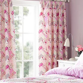 Kirstie Allsopp Gracie Ready Made Curtains 66x72