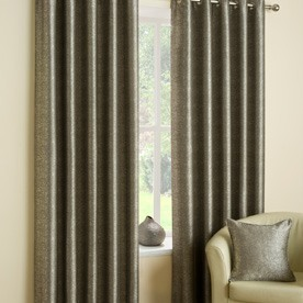 Luna Ready Made Lined Eyelet Curtains