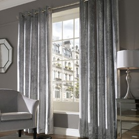 Lux Ready Made Eyelet Lined Curtains