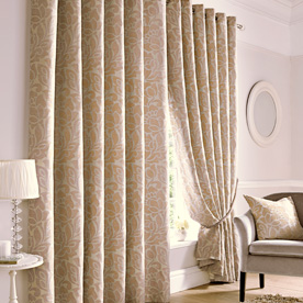 Kew Ready Made Lined Eyelet Curtains