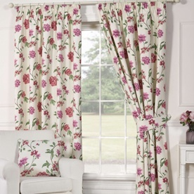 Genevieve Ready Made Lined Curtains