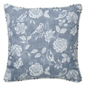 Bird Garden Filled Cushion