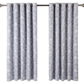 Bird Garden Lined Eyelet Curtains