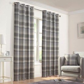 Inverness Ready Made Eyelet Lined Curtains