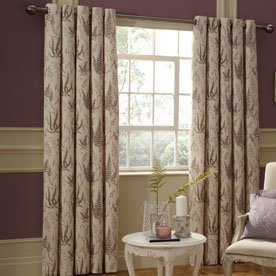 Botanica Ready Made Lined Eyelet Curtains