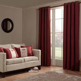 Anderson Ready Made Lined Eyelet Curtains