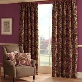 Lakeland Ready Made Lined Curtains
