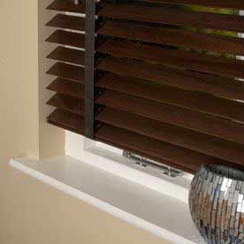 50mm Elementi Wood Venetian Blind With Tapes