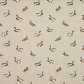 Mallard Curtain Fabric
