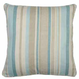 Melrose Stripe Filled Cushion