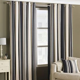 Broadway Readymade Lined Eyelet Curtains