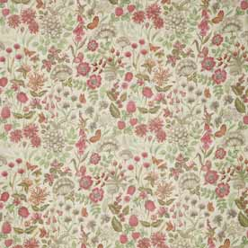 Field Flowers Curtain Fabric