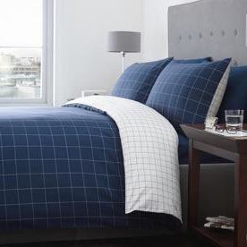 Racing Green Ditton Check Bedding