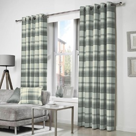 Belvedere Readymade Eyelet Lined Curtains
