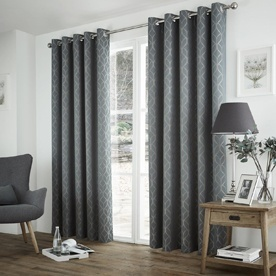 Harlow Thermal Dim Out Eyelet Curtains