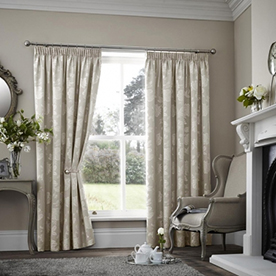 Palmero Scroll Thermal Dim Out Curtains