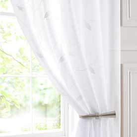 Leaf Voile Curtain Panel