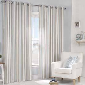 Julian Charles  Brighton Fully Lined Eyelet Curtains