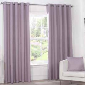 Julian Charles Luna Blackout Eyelet Curtains