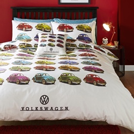 Volkswagen Beetles Bedding