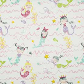 Mermaid Curtain Fabric