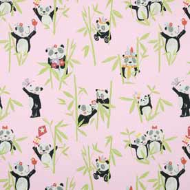 Panda Curtain Fabric