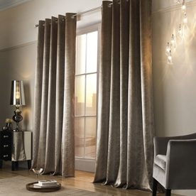Kylie Minogue Adelphi  Ready Made Lined Eyelet Curtains