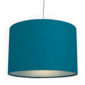 "12"" Raj Cotton Pendant Shade"