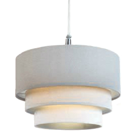 Three Tier Pendant Shade