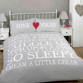 Mine and Yours Bedding