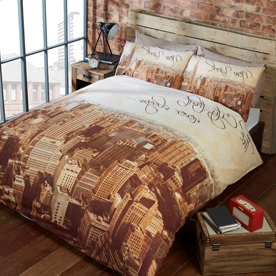 City That Never Sleeps Bedding